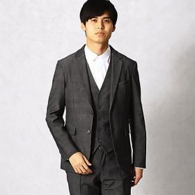 <COMME CA MEN > ジェノバ セットアップジャケット(0715JL03) グレー 【三越・伊勢丹/公式】