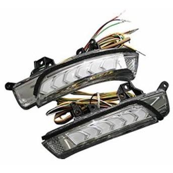 プリウス 30 流れる ドアミラー ウィンカー レンズ LED オプションランプ 白 AVEST Vertical Arrow プリウス30 priu
