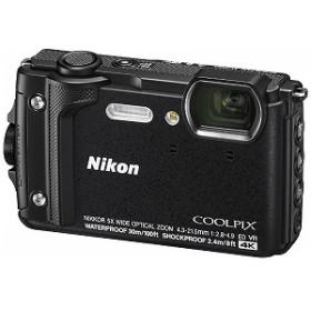 ニコン Nikon コンパクトデジタルカメラ COOLPIX(クールピクス) W300 ブラック [防水+防塵+耐衝撃]