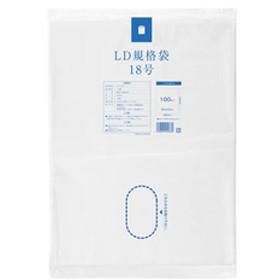 シヤチハタLD規格袋 18号 100枚F047292-LDKI30I-18