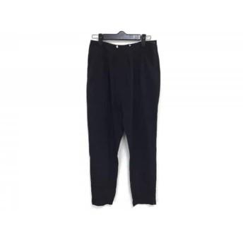 【中古】 デンハム DENHAM パンツ サイズW25 L32 レディース 美品 黒