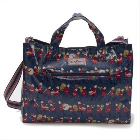 f31ee2f68a キャスキッドソン バッグ トートバッグ CATH KIDSTON OpCrylwSp Marching Band 710657 BLUE_19  比較対照価格 6,156