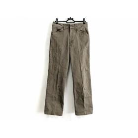 【中古】 レキップ ヨシエイナバ L'EQUIPE YOSHIE INABA パンツ サイズ36 S レディース ブラウン