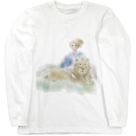 ライオンと私 ロングスリーブTシャツ Mサイズ