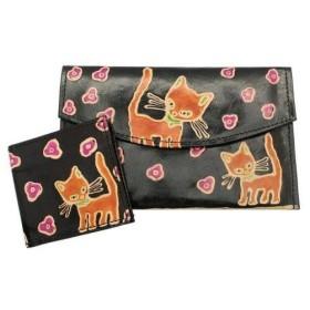 トモコーポレーション ヤンピー猫サイフ2個セット ブラック 23196867 (1246816)