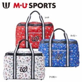 【2018年モデル】M・U SPORTS エムユースポーツ BOSTON BAG アメリカン POP総柄 ボストンバッグ 703W6206