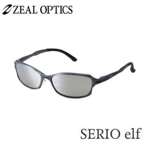 zeal optics(ジールオプティクス) 偏光グラス セリオエルフ F-1192 #トゥルビュースポーツ シルバーミラー ZEAL SERIO elf