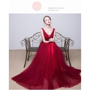 お呼ばれ 発表會 結婚式 二次會 ドレス フォーマル エレガントドレス カラードレス ウェディングドレス パーティードレス 演奏