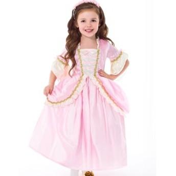 ハロウィン 衣装 子供 プリンセス ドレス コスチューム ピンク 女の子 100-125cm