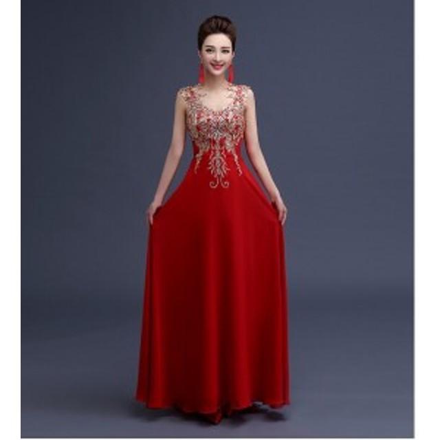 f82ae6142bdfb 手創りパーティードレス ノースリーブ ドレス二次會 ウェディングドレス ...