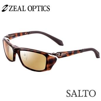 zeal optics(ジールオプティクス) 偏光グラス サルト F-1509 #ラスターオレンジ/シルバーミラー ZEAL SALTO