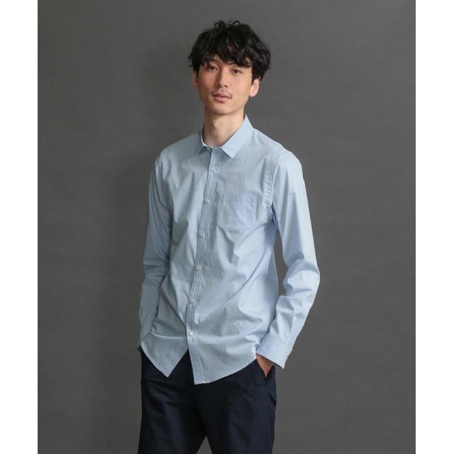 ラブレス MEN はっ水ブロードシャツ メンズ ブルー 3 【LOVELESS】