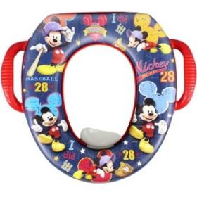 ディズニー ミッキーポッティシートソフト便座(子供用補助便座) おまる トイレトレーニング  (DisneyMickeysoftpotty)
