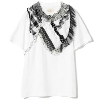TORI-TO × BEAMS BOY / コラージュ ショートスリーブ Tシャツ 19SS レディース Tシャツ BLACK ONE SIZE