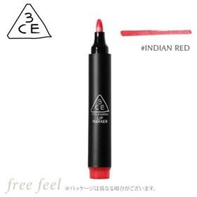 3CE リップマーカー #INDIAN RED [LIP MARKER] [スリーシーイー スタイルナンダ STYLENANDA] [口紅 リップスティック ティント] 韓国コスメ