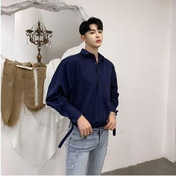 シャツ - BIG BANG FELLAS 違いを生む デザインシャツ ゆったり メンズ メンズファッション ストリート系 カジュアル モード系 韓国 ファッション 韓流K-POP アイドル ラグジュアリー 春 パーティー