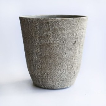 軽い 樹脂製 植木鉢 ムーロハイポットS グレー 直径28cm×高さ29cm SL6084C