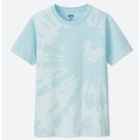 KIDS ミッキー ブルー UT(グラフィックTシャツ・半袖)