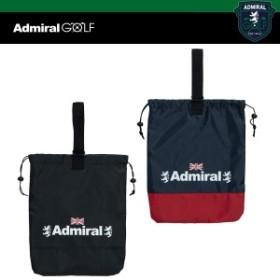 アドミラル ゴルフ 巾着 シューズケース ADMZ 9STG ADMIRAL GOLF