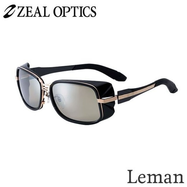 zeal optics(ジールオプティクス) 偏光グラス レマン F-1520 #トゥルビュースポーツ シルバーミラー ZEAL Leman