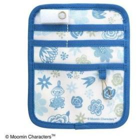 セントレディス MOOMIN ポケットオーガナイザー FLOWER ブルー ST-ZM0137 (1126436)