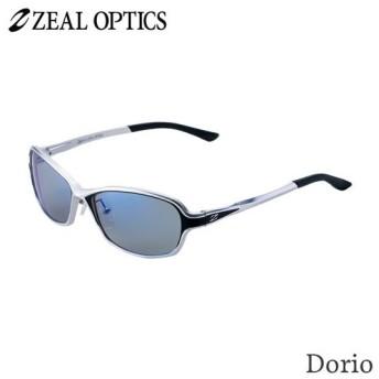 zeal optics(ジールオプティクス) 偏光グラス ドリオ F-1660 #トゥルビュースポーツ ブルーミラー ZEAL DORIO