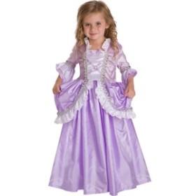 ハロウィン 衣装 子供 ラプンツェル コスチューム 女の子 100-135cm プリンセス ロイヤル ドレス