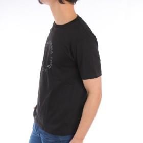 Tシャツ - ローコス 【半袖Tシャツ メンズ】 半袖Tシャツ メンズ クルーネック プリント ロゴプリント 白 黒 グレー 春 夏 プリントTシャツ メンズTシャツ カットソー トップス サークルロゴ スリム お洒落