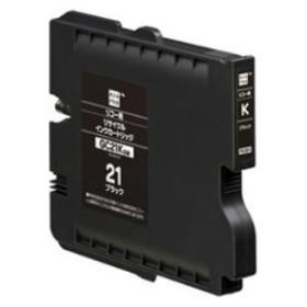 エレコム エコリカ リコー(RICHO) 対応 リサイクル インクカートリッジ ブラック GC21K ECI-RC21B