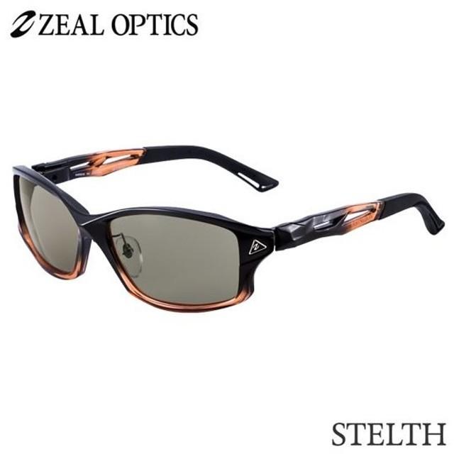 zeal optics(ジールオプティクス)  偏光グラス ステルス F-1805 #トゥルービュースポーツ ZEAL STELTH