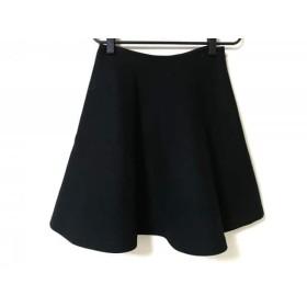 【中古】 プラダ PRADA スカート サイズ38 S レディース 黒