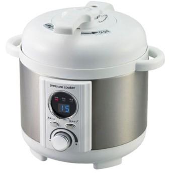 アルファックス・コイズミ AL COLLE(アルコレ) 電気圧力鍋1.2L ホワイト LPCT12W