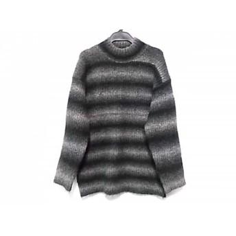 【中古】 オープニングセレモニー OPENING CEREMONY 長袖セーター サイズM レディース 黒 グレー
