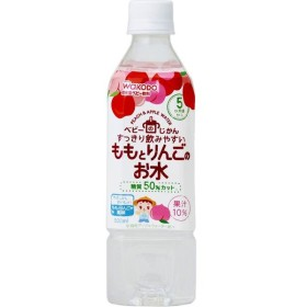 和光堂 ベビーのじかん ももとりんごのお水 <500mL・PET>