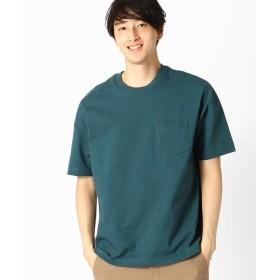 COMME CA ISM / コムサイズム ポケット付 半袖 Tシャツ