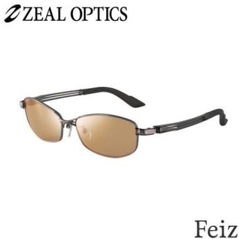 zeal optics(ジールオプティクス) 偏光グラス フェイズ F-1335 #ラスターオレンジ/シルバーミラー ZEAL Feiz