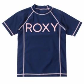 f80b90dc0b429 アウトレット Roxy ロキシー キッズ   UPF50+ 半袖ラッシュガード(100-150)