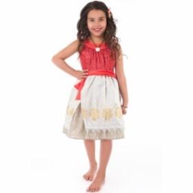 63e0ae1091fa4 ハロウィン 衣装 子供 ポリネシアン プリンセス ドレス コスチューム 女の子 100-125cm