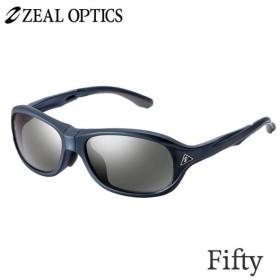 zeal optics(ジールオプティクス) 偏光グラス フィフティ F-1744 #トゥルービューフォーカスシルバーミラー ZEAL Fifty