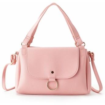 【37%OFF】 ピンクアドベ リングフラップ2WAYショルダーバッグ レディース ピンク(072) 00 【pink adobe】 【タイムセール開催中】