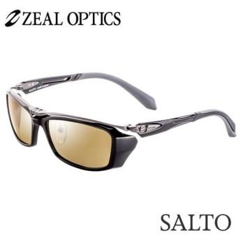 zeal optics(ジールオプティクス) 偏光グラス サルト F-1507 #ラスターオレンジ/シルバーミラー ZEAL SALTO