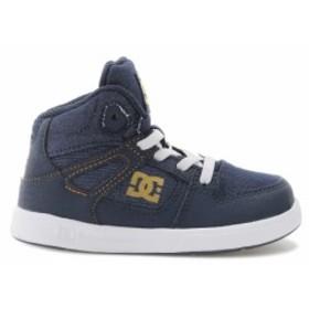 30%OFF セール SALE DC Shoes ディーシーシューズ キッズ  ストレッチシューレース ハイカット スニーカー Ts PURE HIGH-TOP SE UL SN (1