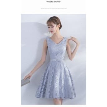 大きいサイズ 披露宴 レースマーメイドドレス花嫁ドレス 新作 お呼ばれドレス 高級なVネックドレス 二次會 ウェディングドレス