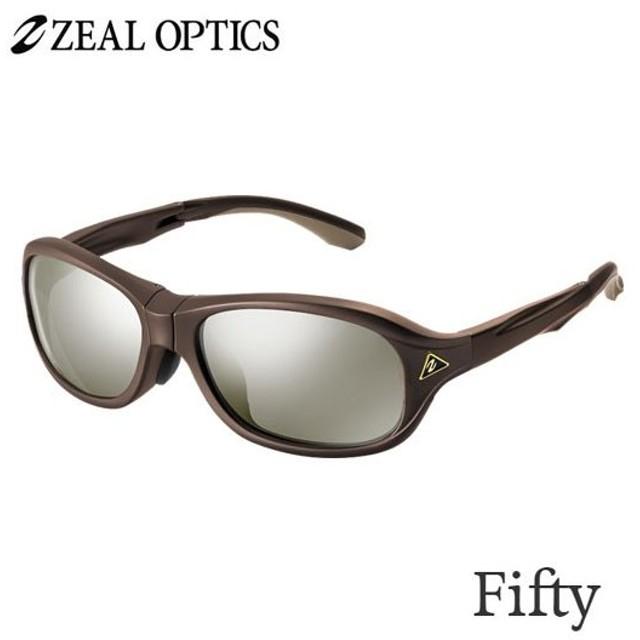 zeal optics(ジールオプティクス) 偏光グラス フィフティ F-1742 #トゥルービュースポーツシルバーミラー ZEAL Fifty