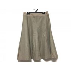 【中古】 セオリー theory スカート サイズ2 S レディース ベージュ Domani