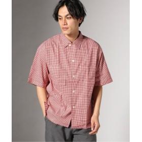 【40%OFF】 ジャーナルスタンダード UNITUS/ ユナイタス : Safari Shirt メンズ レッド M 【JOURNAL STANDARD】 【セール開催中】
