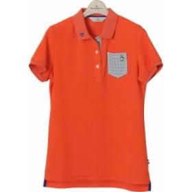 【メール便OK】Munsingwear(マンシングウェア) MGWLJA09 レディース ゴルフウェア 半袖ポロシャツ トップス