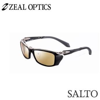 zeal optics(ジールオプティクス) 偏光グラス サルト F-1503 #ラスターオレンジ/シルバーミラー ZEAL SALTO