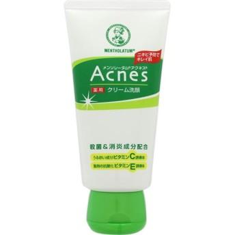 ロート製薬 メンソレータム アクネス 薬用クリーム洗顔 <130g>
