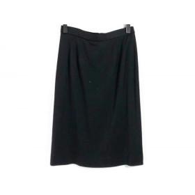 【中古】 レオナール LEONARD スカート サイズ73 レディース 黒 3
